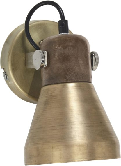 Ashby vegglampe pale gold