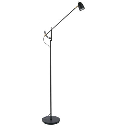 Radiell LED gulvlampe
