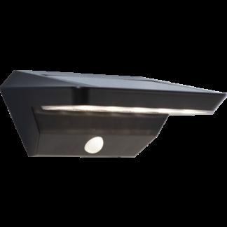 Wally vegglampe solcelle bevegelse/skumring IP44