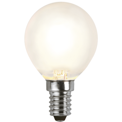 LED Frosted Filament E14 4W