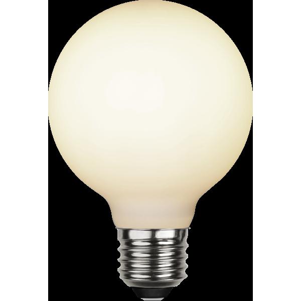 Illumination LED frosted E27 globe Ø80 5W